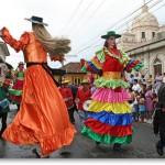 Gigantona Street Performer, Granada